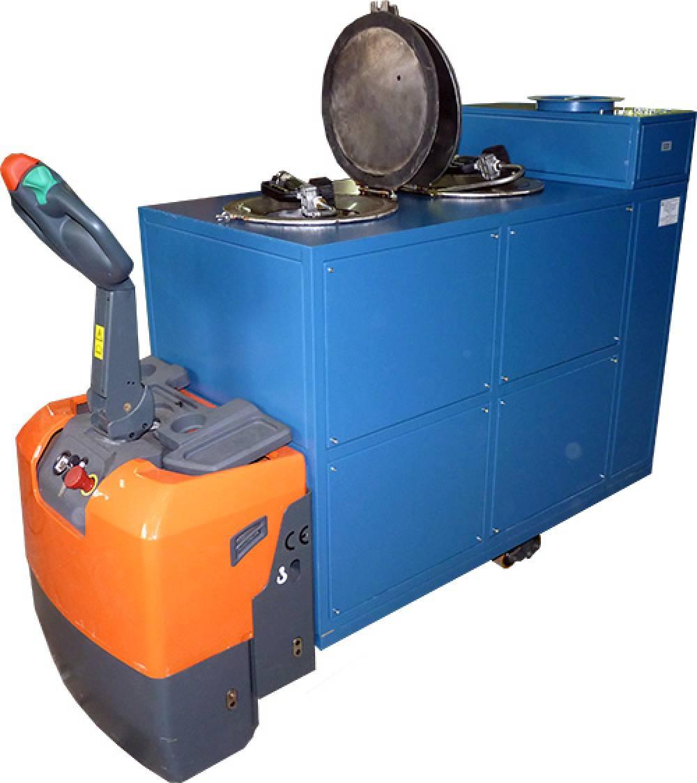 Тележка самоходная для экипировки смазочными материалами (ТС-2) (ФУРС.421427.005-01)