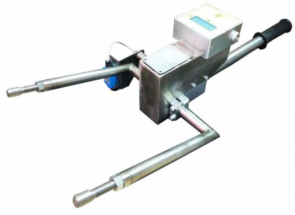 Прибор для контроля усилия башмака токоприемника тележки вагона метрополитена (ФУРС.404161.012)