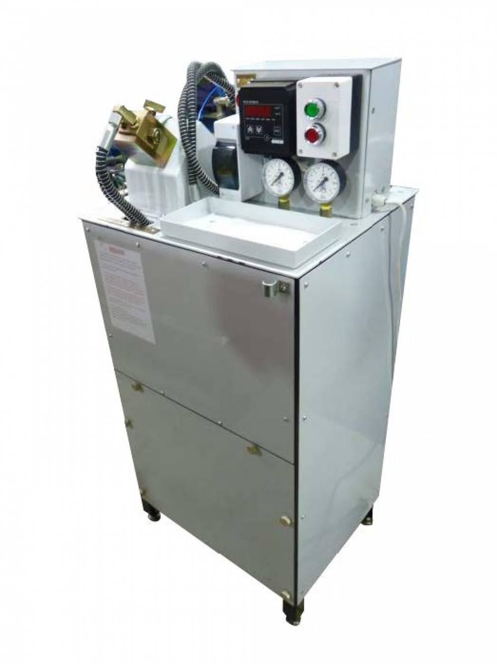 Стенд для испытания форсунок автоматического гребнесмазывателя (ФУРС.443253.017)