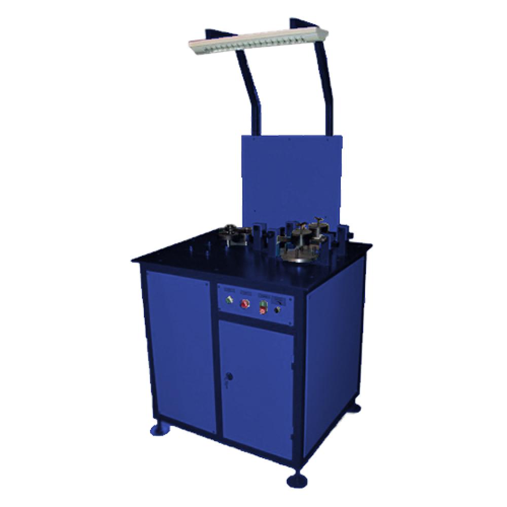 Автоматизированный стенд для притирки  золотников кранов машиниста