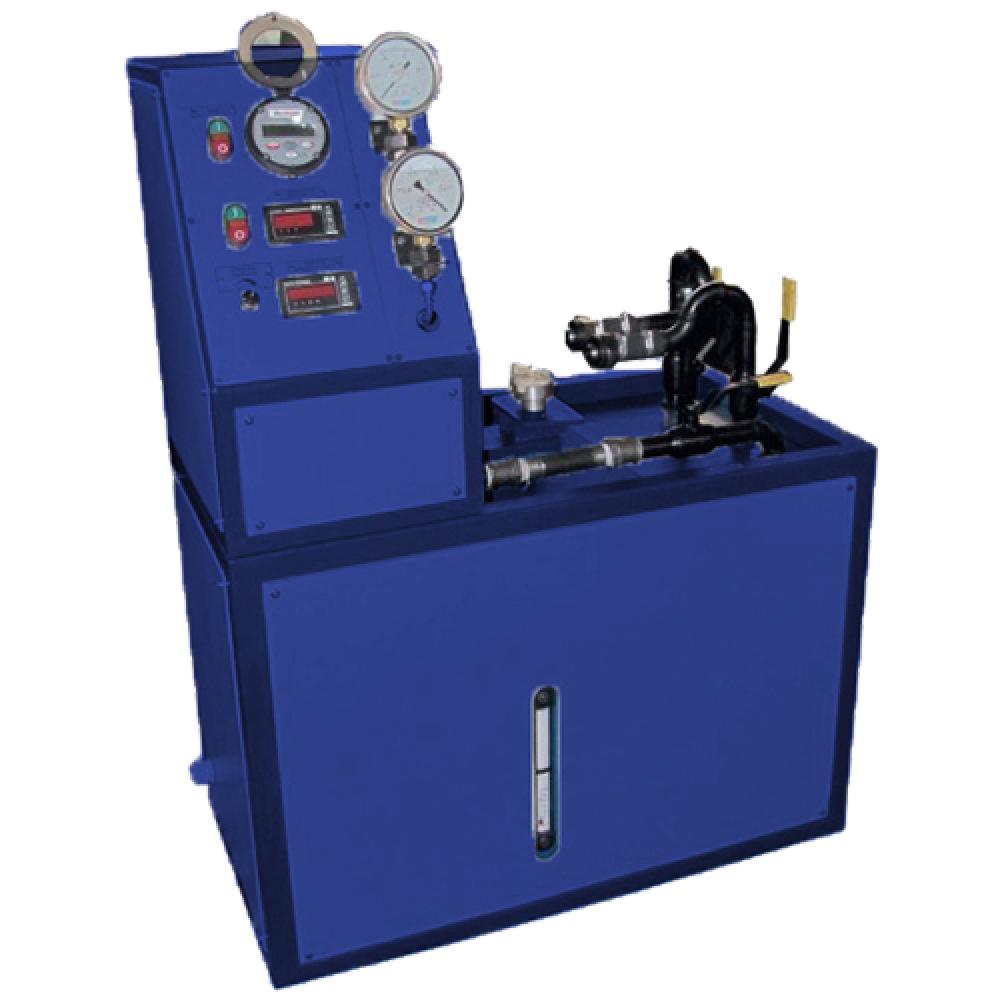 Автоматизированный стенд для испытания топливоподкачивающих насосов дизелей тепловозов