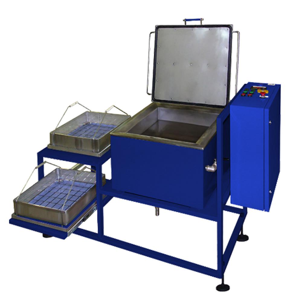Установка для ультразвуковой очистки (мойки)  деталей тягового подвижного состава (ТПС)