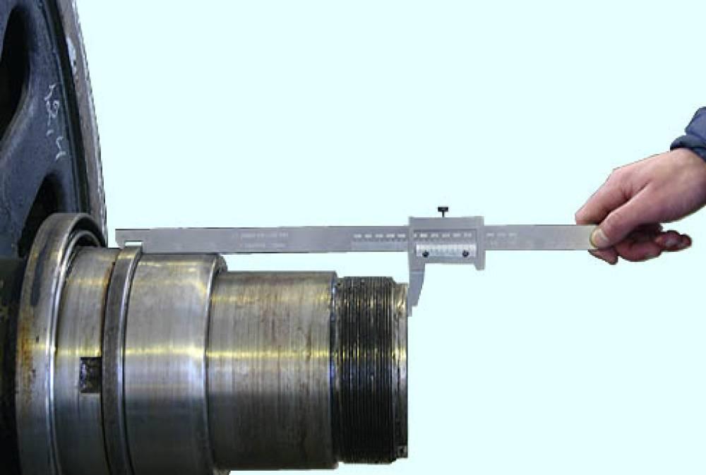 Комплект штангенциркулей специальных для буксовых узлов электровоза