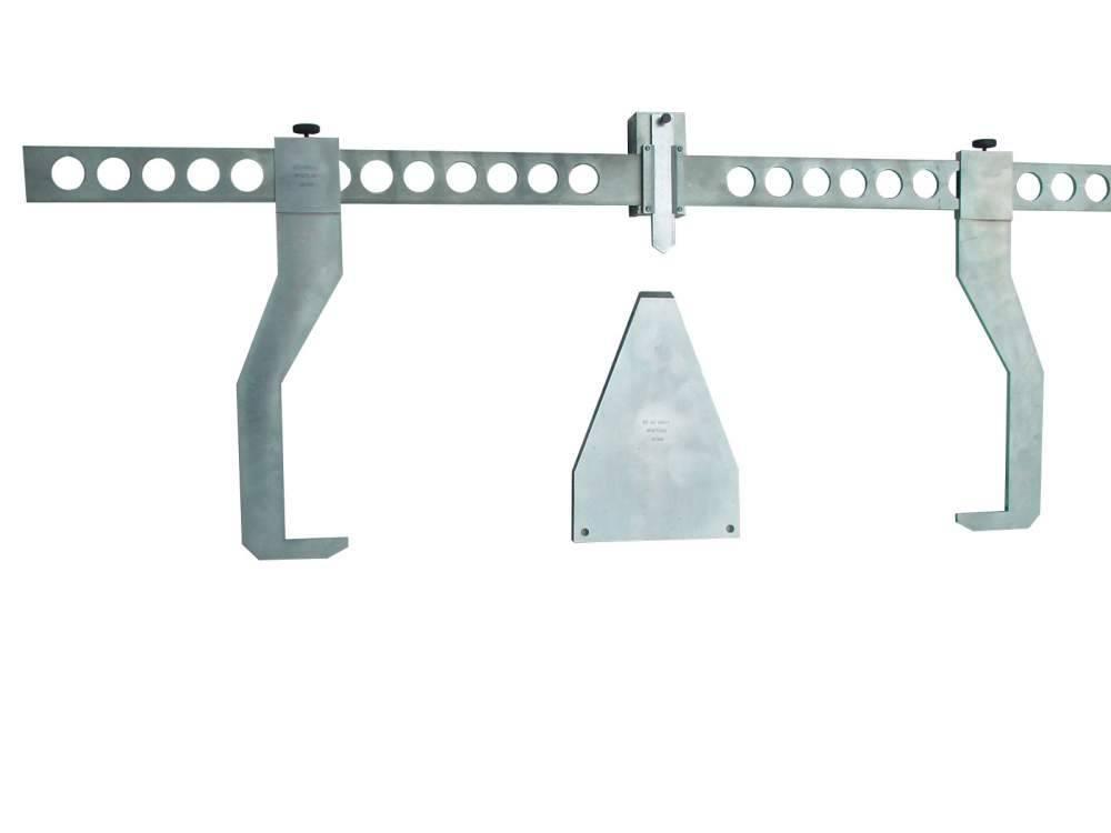 Измеритель расстояния от внутренней грани бандажа до наличника буксы шейки оси колесной пары ИСМ-1 (ступицемер)