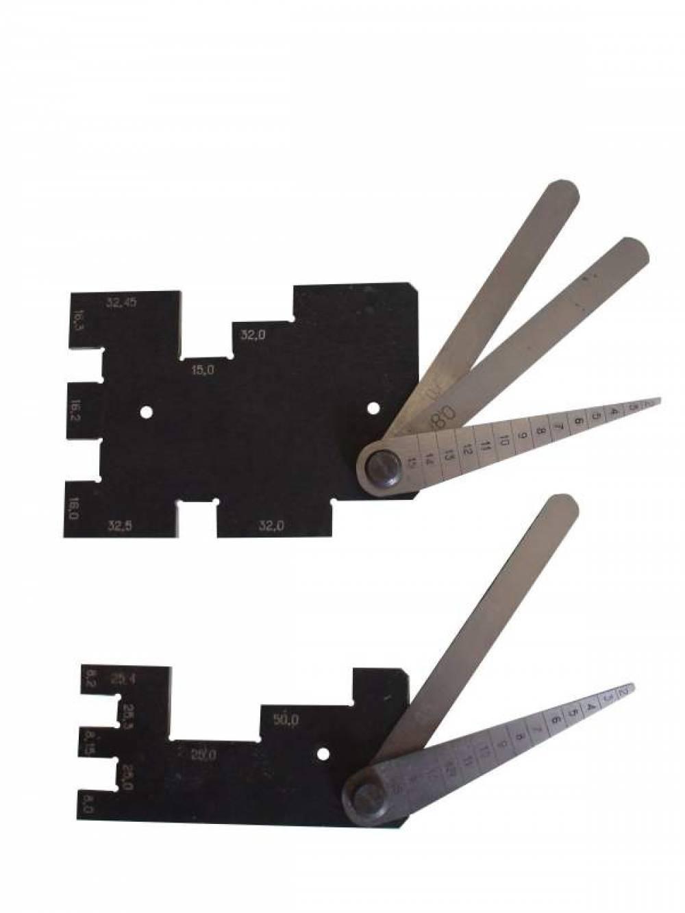 Шаблон и щупы ДК-604В для коллеторно-щеточного узла делителей напряжения электропоездов