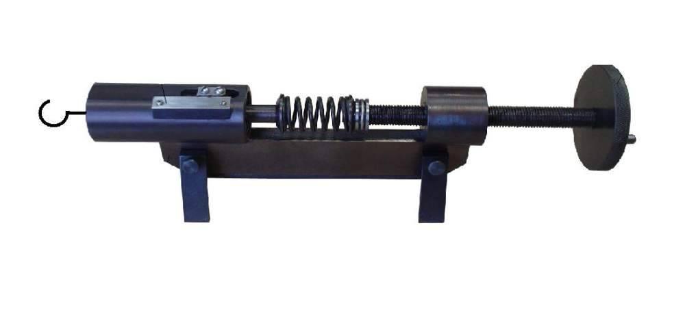 Устройство для контроля пружин электроаппаратов локомотивов УКПЭ-100-60 (сила сжатия до 100 Н, свободная длина пружин до 60 мм)