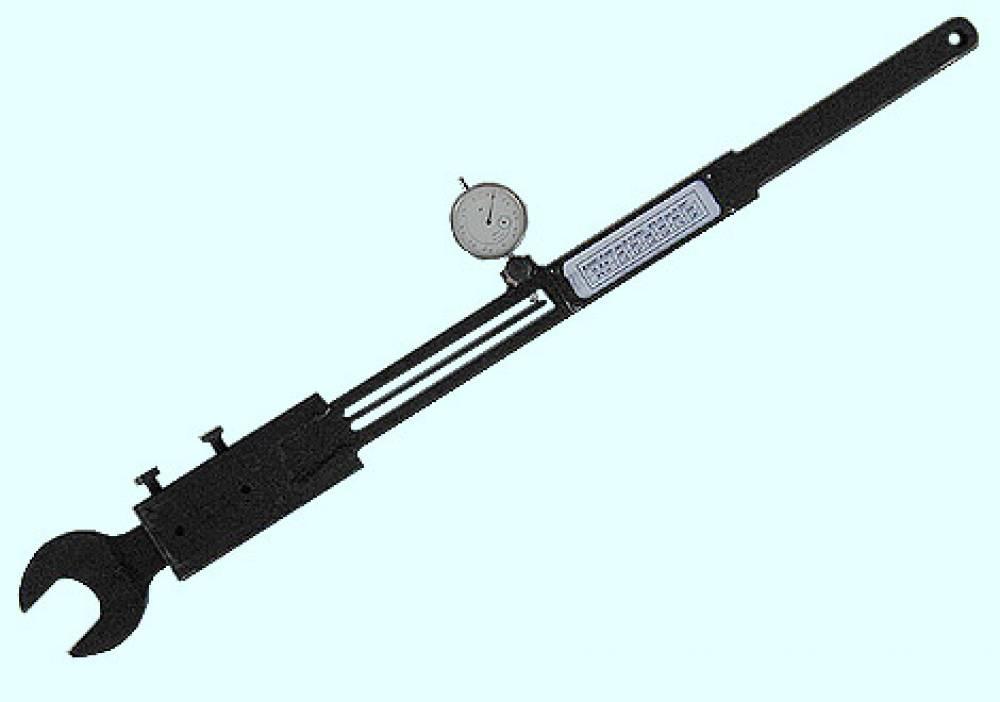 Ключ моментный индикаторный специальный  КМИС-600х41 для сборки форсунок дизеля K6S310DR (диапазон измерения от 100 до 600 Нм, рожковый с размером зева ключа 41 мм и длиной рычага 700-800 мм)