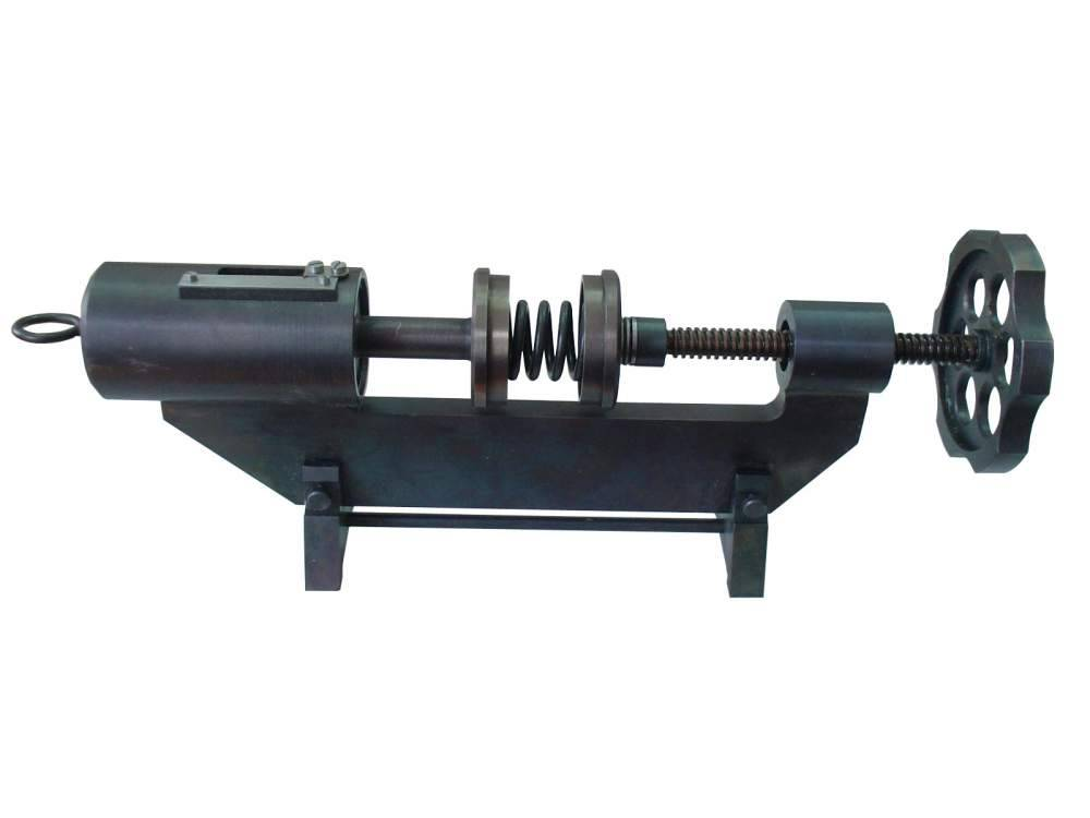 Устройство для контроля пружин электроаппаратов локомотивов УКПЭ-500-140 (сила сжатия до 500 Н, свободная длина пружин до 140 мм)