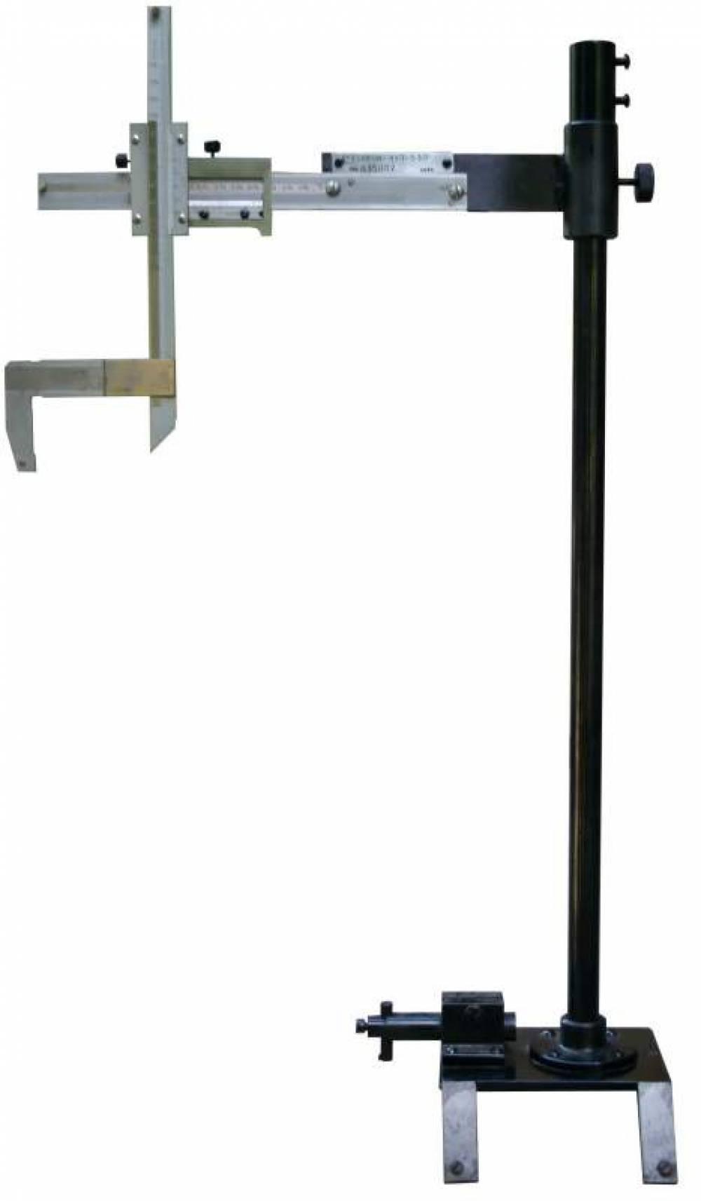 Стойка измерительная радиуса колеса  СИРК-Ш-530-630 (относительно шейки оси колесной пары электровоза)