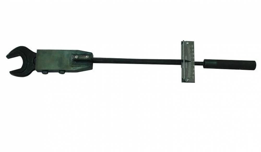 Ключ моментный шкальный специальный КМШС-200х36  для сборки форсунок дизелей Д49, Д50, Д100 (рожковый, диапазон измерения от 20 до 200 Нм,  размер зева ключа  36 мм)