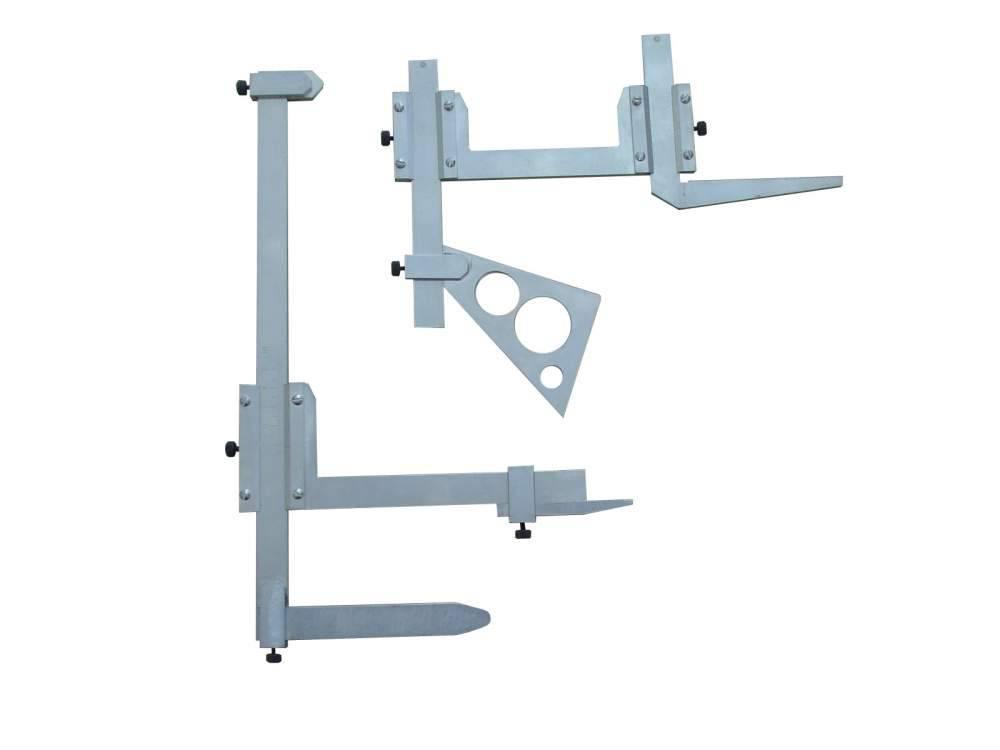 Комплект штангенциркулей специальных для контроля ниппеля моторно-осевых подшипников тяговых электродвигателей (2 вида – для контроля положения ниппеля ШЦКН-П-МОП и высоты порожка ШЦКН-В-МОП)