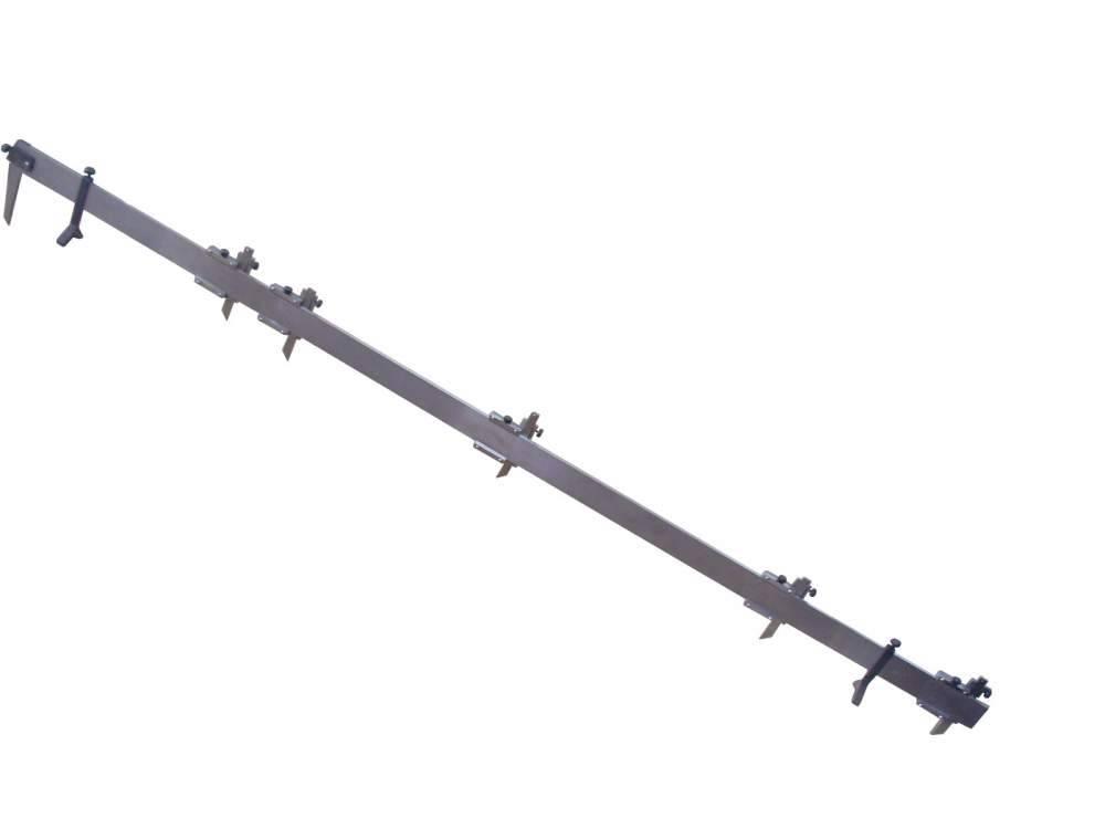 Штангенциркуль специальный длин элементов оси колесной пары локомотива ШЦСДО-300-1260