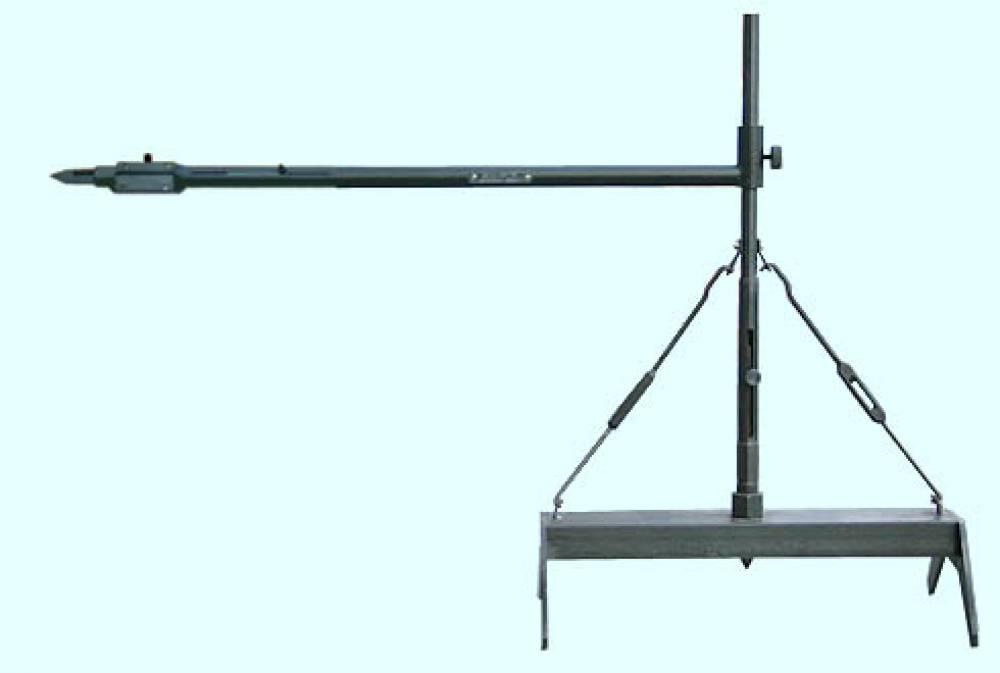 Длинномер (штихмасc) для измерения расстояния от середины оси до внутренней грани бандажа (колеса) ДСК-700-740