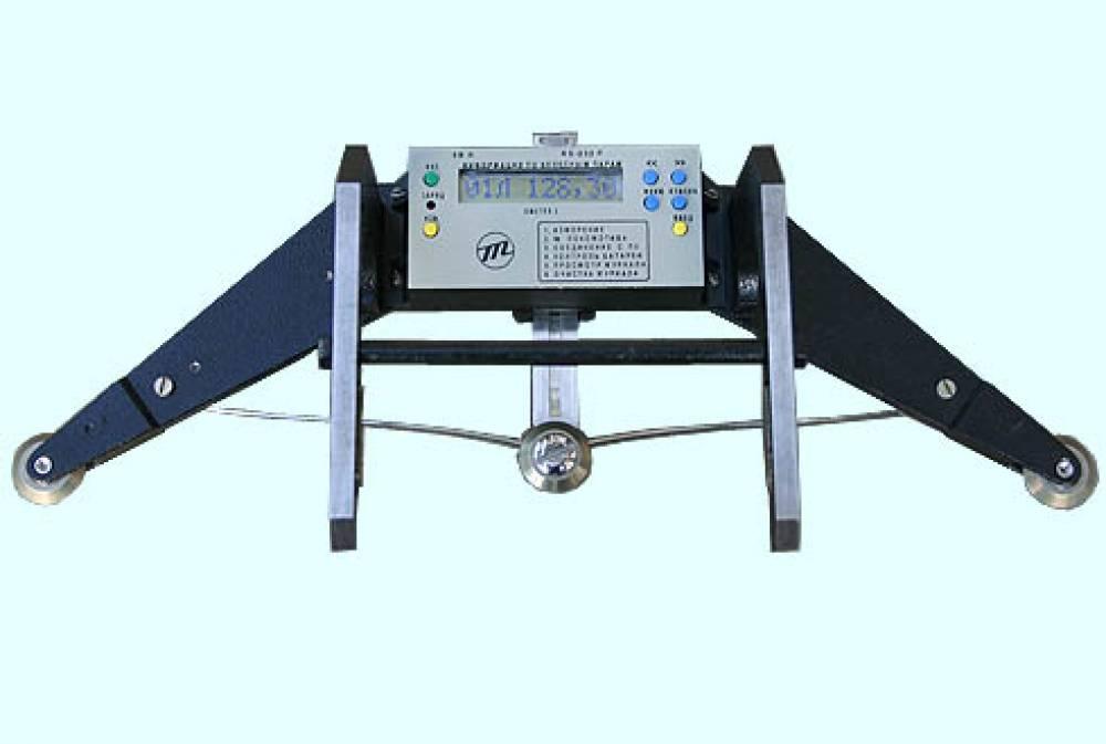 Скоба контроля диаметра колеса – цифровая СКДК-ЦБО-810-1060 (с блоком обработки информации и памятью на 200 колес, без выкатки колесной пары, без контрольного шаблона ШК)