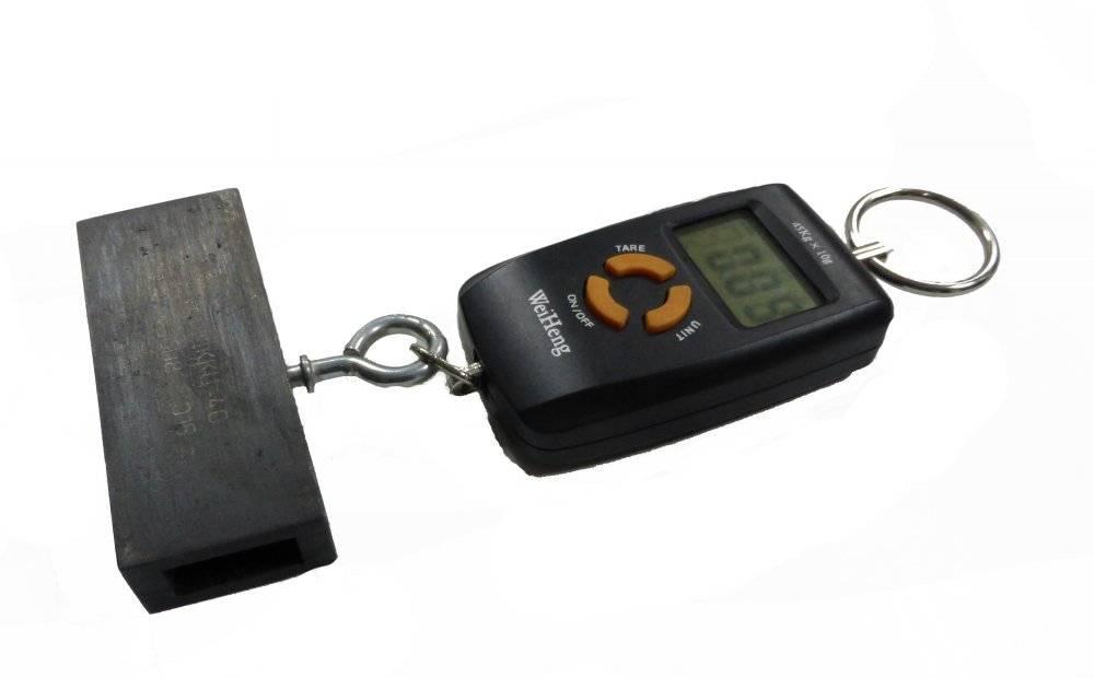 Динамометр контроля силы открытия-закрытия тормозного концевого крана цифровой ДККЦ-40