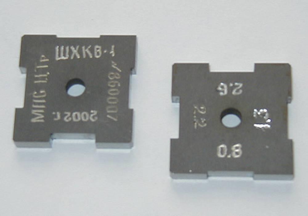 Шаблоны ШЭТ-1,7-23,0 для проверки раствора контактов электрических аппаратов тепловозов
