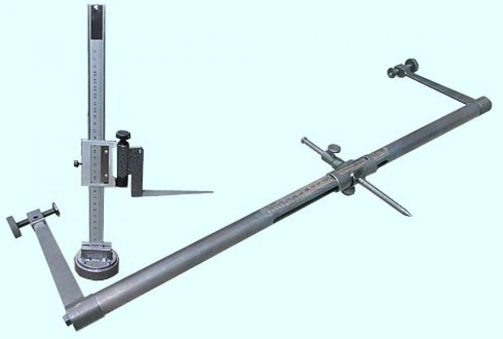 Шаблон ШУПК-90 и высотомер ВУПК-280 установки приемных катушек АЛСН (в комплекте шаблон и высотомер)