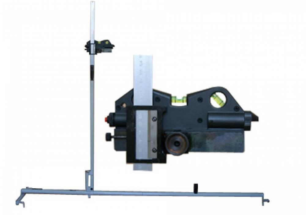 Устройство высоты автосцепки лазерное УВА-Л-920-1090 над головками рельс (шаблон высоты автосцепки лазерный ШВА-Л-920-1090)