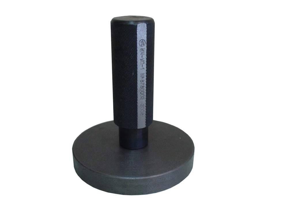 Калибр чугунный  КЧ-УП-1 для выверки уравнительного поршня  крана машиниста усл. № 394М и 395М ( диаметр калибра 99,85 мм)