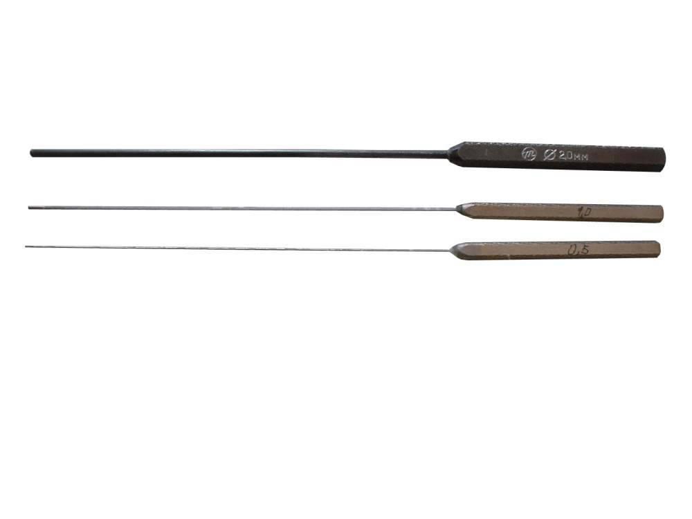 Щупы цилиндрические специальные ЩЦС-0,5; 1,0; 2,0 (длиной 100 мм)