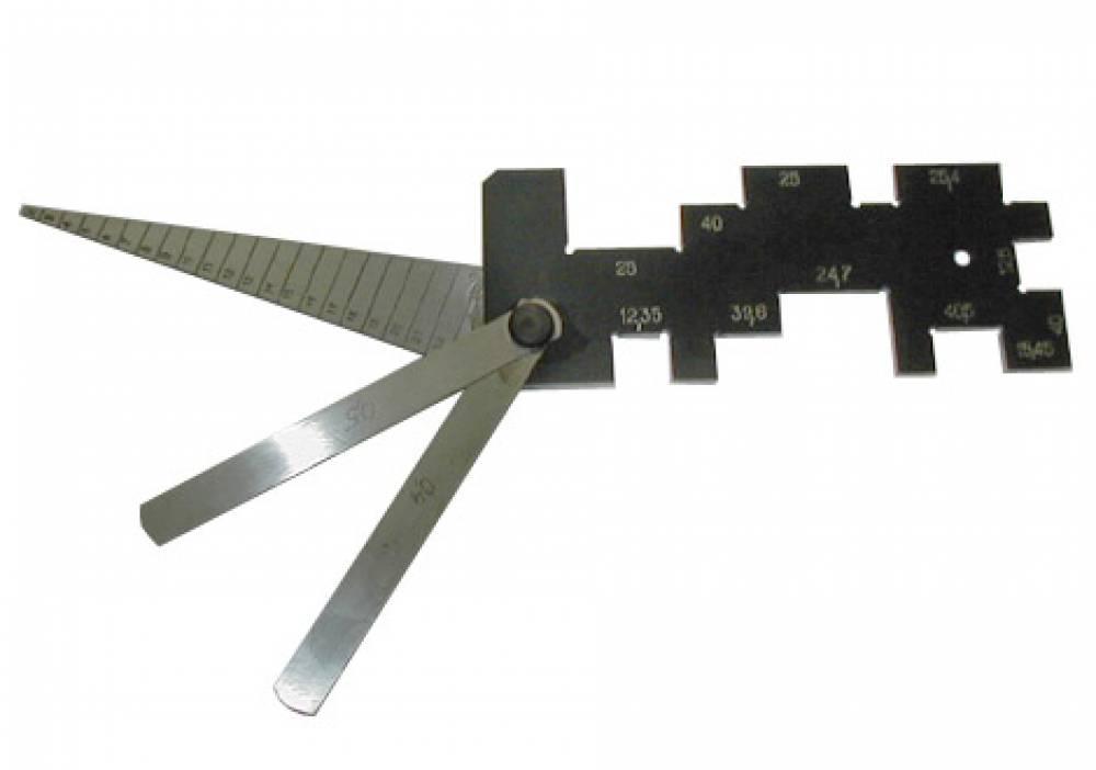 Шаблон и щупы ШЭМ-2 для коллеторно-щеточного узла тяговых электродвигателей тепловозов